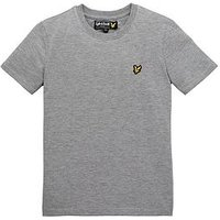 Boys, Lyle & Scott Lyle & Scott Classic T Shirt, Grey, Size 4-5 Years