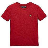 Boys, Lyle & Scott Lyle & Scott Classic T Shirt, Pomegrante Marl, Size 3-4 Years