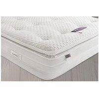 Silentnight Mirapocket Jasmine 2000 Geltex Pillow Top Mattress - Medium/Soft - With Next Day Delivery