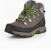 Trespass GLEBE II Childrens Boot, Grey/Green, Size 12