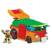 Teenage Mutant Ninja Turtles Half-Shell Heroes Party Wagon With Donnie