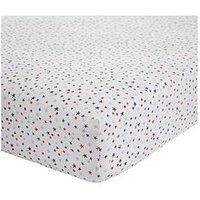 Bianca Cottonsoft Star Fitted Sheet - Single, Blue