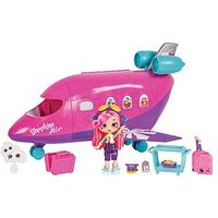 Shopkins Shoppies Shopkins Shoppies Airplane Playset With Shoppies Doll