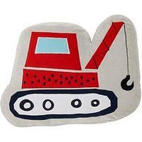 Catherine Lansfield Diggers Shaped Cushion, Multi