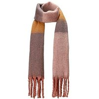 V by Very Brushed Stripe Blanket Scarf, Multi, Women
