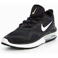 Nike Air Max Fury - Black , Black/White, Size 5, Women