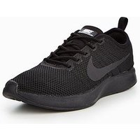 Nike Dualtone Racer - Black , Black/White, Size 8, Women