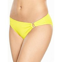 DORINA Fiji Bikini Brief, Yellow, Size 12, Women