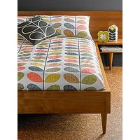 Product photograph showing Orla Kiely House Scribble Stem Cotton 200 Thread Count Duvet Cover