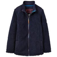 Joules Boys Angus Fleece, Navy, Size 11-12 Years