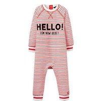 Joules Boys Ernie Sweater Babygrow, Stripe, Size 18-24 Months