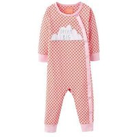 Joules Girls Dream Big Applique Babygrow, Red, Size 3-6 Months