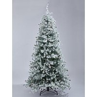 7Ft Finland Spruce Christmas Tree With Pinecones