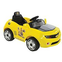 Transformers 6V Battery Operated Bumblebee Car