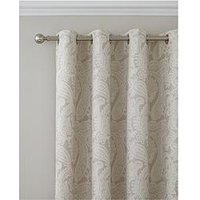 Catherine Lansfield Cl Opulent Jacquard 66X72 Eyelet Curtians