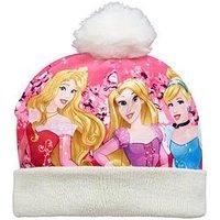 Disney Princess Bobble Hat, Cream, Size 54
