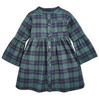 Mini V by Very Girls Tartan Dress, Multi, Size 9-12 Months, Women