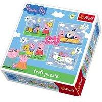 Peppa Pig 4 In 1 Peppa Pig Puzzle
