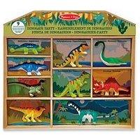Melissa & Doug Dinosaur Party Playset, One Colour