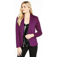 V by Very Ponte Jacket, Violet, Size 12, Women