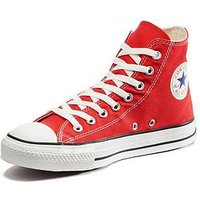 Converse Chuck Taylor All Star Hi-Tops, Red, Size 10, Women