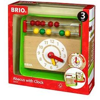 Ravensburger Brio Abacus with Clock, One Colour