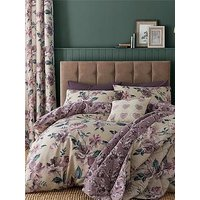 Product photograph showing Catherine Lansfield Painted Floral Duvet Cover Set
