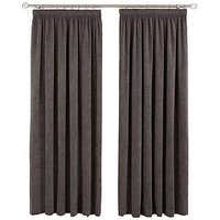 Ideal Home Luxury Darwin Pleated Curtains