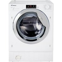 Candy Cbwm814Dc 8Kg Load, 1400 Spin Integrated Washing Machine  - Washing Machine With Installation