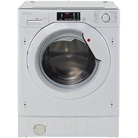 Hoover Hbwm814D 8Kg Load, 1400 Spin Integrated Washing Machine  - Washing Machine Only