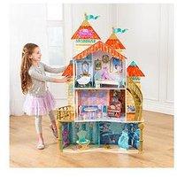 Disney Princess Ariel Land To Sea Castle Dollhouse