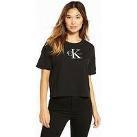 Calvin Klein Jeans Calvin Klein Teco 18b True Icon S/s T-shirt, Ck Black, Size Xl, Women