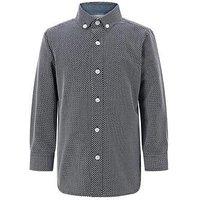 Boys, Monsoon Lucas Shirt, Navy, Size 2-3 Years