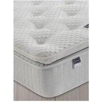 Product photograph showing Silentnight Mia 1000 Geltex Pillowtop Mattress - Medium - Mattress Only