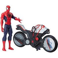 Marvel Marvel Spider-Man Titan Hero Series Spider-Man Figure With Spider Cycle