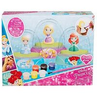 Disney Princess Disney Princess 3 Pack Paint Your Own Glitter Domes