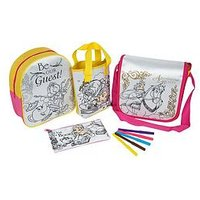 Disney Beauty And The Beast Disney Beauty &Amp; The Beast Belle Colour Your Own 4 Pack Bag Gift Set