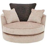Adelaide Fabric Swivel Chair