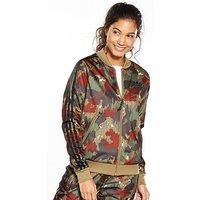 adidas Originals Hu Hiking Superstar Track Top - Multi , Multi, Size 18, Women