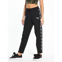 Puma Rebel Pants, Black, Size Xl/16, Women