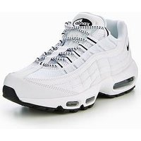 Nike Air Max 95 Essential - White , White, Size 6, Men