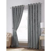Laurence Llewelyn-Bowen Scarpa Lined Eyelet Curtains