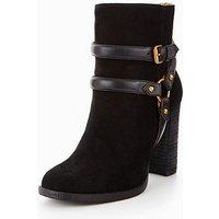 UGG Dandridge Ankle Boot, Black, Size 5, Women