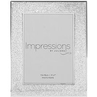 Silver Plated Glitter Photo Frame