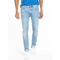 Levi's 501 Skinny Fit Stretch Jeans, West Coast, Size 33, Length Short, Men