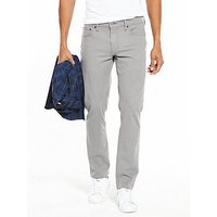 Levi's 511 Slim Fit Stretch Chinos, Steel Grey, Size 30, Inside Leg Long, Men
