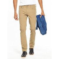 Levi's 511 Slim Fit Stretch Chinos, Harvest Gold, Size 34, Inside Leg Short, Men