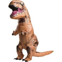 Inflatable T-rex Dinosaur Jurassic Park Adult Costume, One Colour, Women
