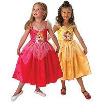 Disney Princess Reversible Sleeping Beauty To Golden Belle Costume