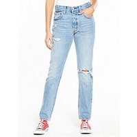 Levi's 501 Skinny Ripped Jean, Cant Touch This, Size 28, Inside Leg 32, Women